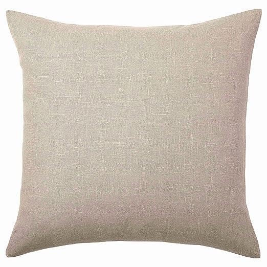 IKEA ASIA AINA - Funda de cojín, Color Beige: Amazon.es: Hogar