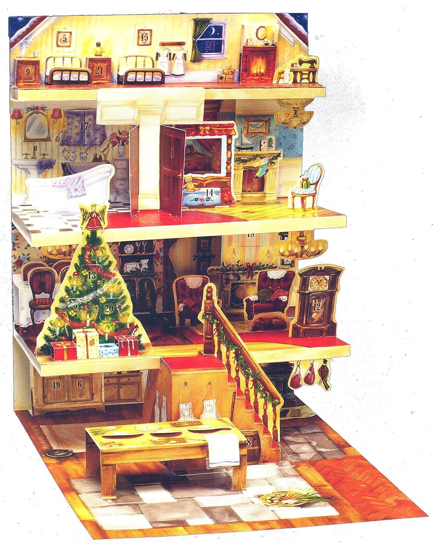 3D Popup Advent Calendar - The Night Before Christmas Babalu 606