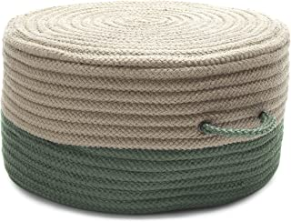 product image for Colonial Mills Two-Tone Pouf ON61 Ottoman