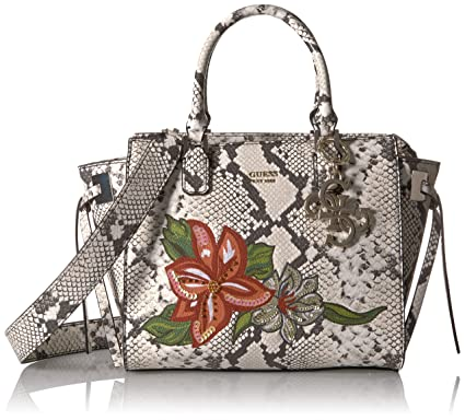 ed8fefba667e GUESS Digital Python Status Satchel  Handbags  Amazon.com
