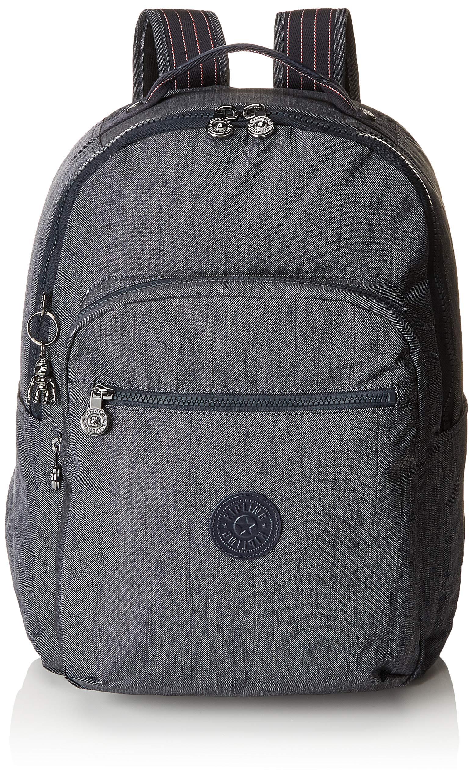 Kipling SEOUL BABY BACKPACK Bag Organiser, 44 cm, 26 liters, Blue (Active Denim)