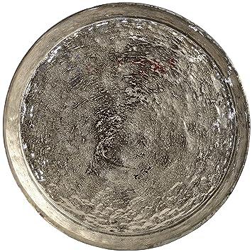 Antigua bandeja de exposición de vidrio mercurio y plata: Amazon.es: Hogar