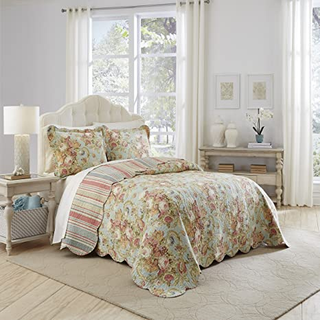Peachy Waverly Spring Bling Bedspread Collection Queen Alphanode Cool Chair Designs And Ideas Alphanodeonline