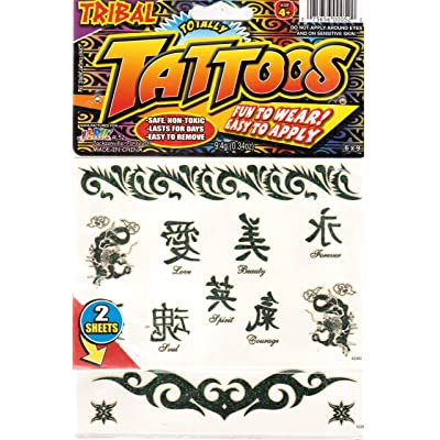 Tribal Totally Tattoos (2 sheets): Toys & Games