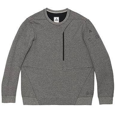 Nike Lab ACG Tech Fleece Men's Crew (Medium, Grey)