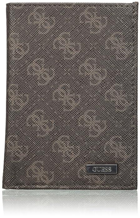 Guess - Sm0083lea51, Organizadores de bolsos Hombre, Marrone, 2.8x12.5x9.1 cm (W x H L): Amazon.es: Zapatos y complementos
