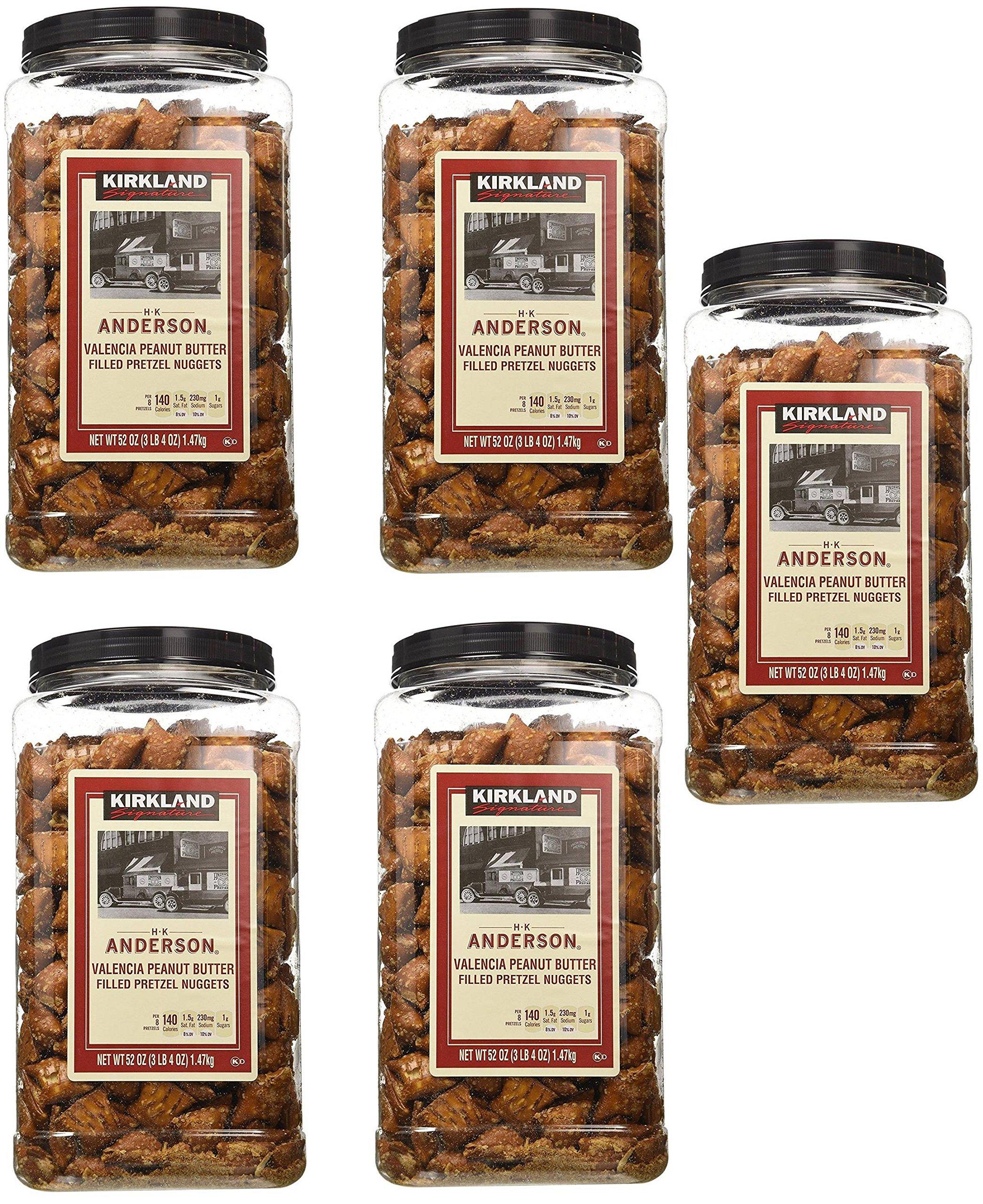 Kirkland Signature Peanut Butter Pretzel, 5 Pack(52 Ounce) by Kirkland