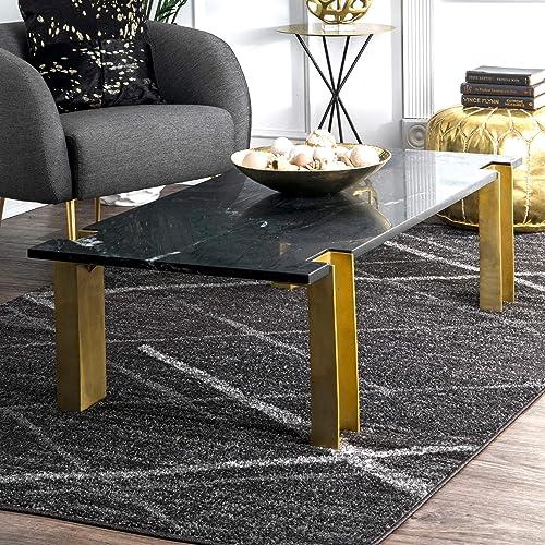 nuLOOM Thigpen Contemporary Area Rug, 3 x 5 , Grey, Dark Gray