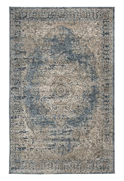 Amazon Com Signature Design By Ashley South Rug 96 W X 120 L