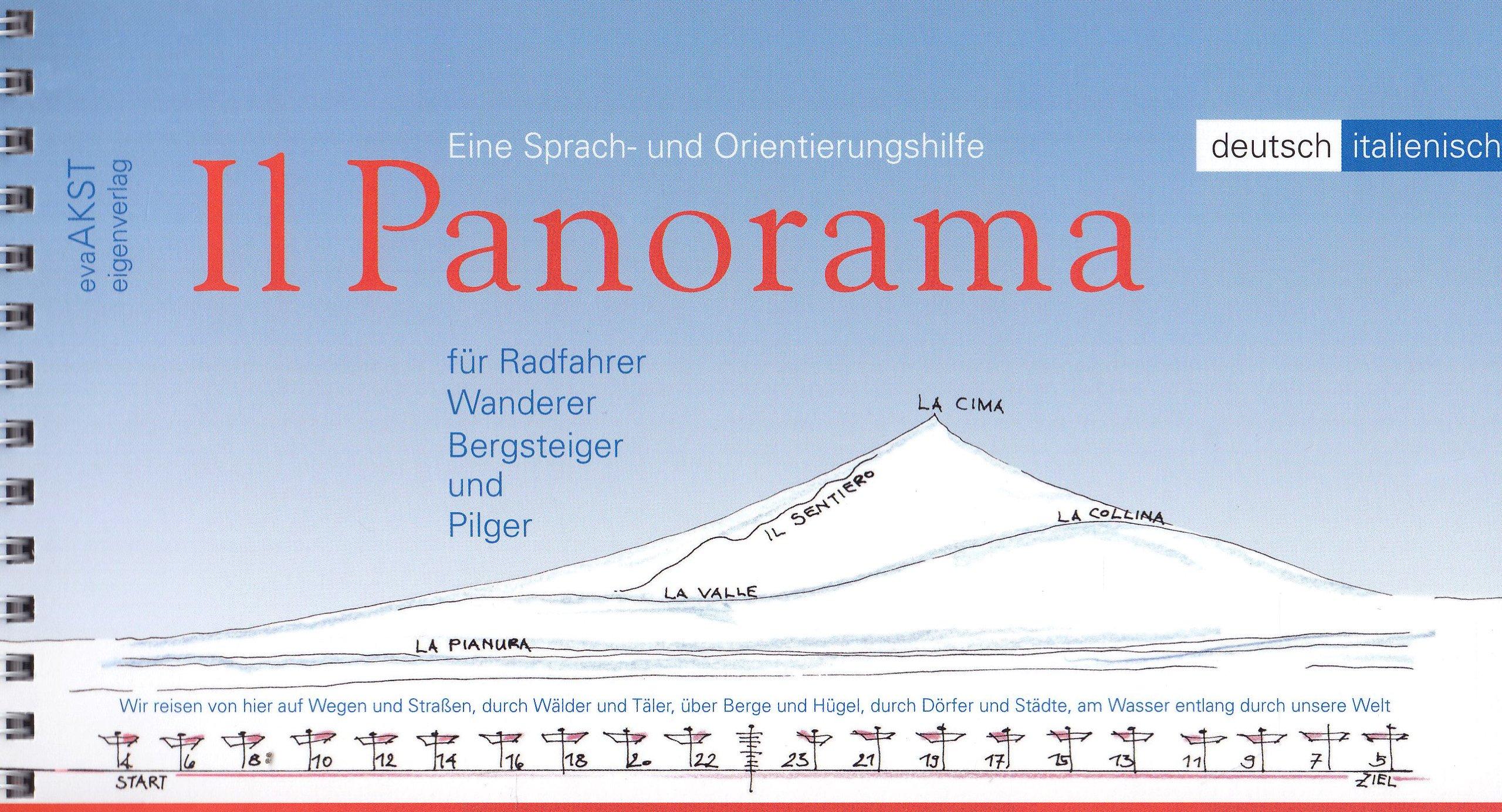 Il Panorama: Eine Sprach- und Orientierungshilfe für Radfahrer, Wanderer, Bergsteiger und Pilger. Dt. /Ital.