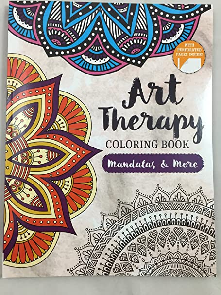 Amazon.com: Art Therapy Coloring Book Mandalay & More: Everything Else