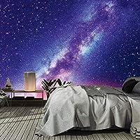 murimage Fotobehang universum 3D 366 x 254 cm inclusief lijm Galaxie nachthemel sterren wereldall Cosmos Kosmonaut Sky…