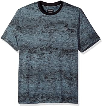 d61284cd7fea Lacoste Men's Short Sleeve Jersey Stretch with Silver Tipping & Chevron  Detail T-Shirt, TH3128 | Amazon.com