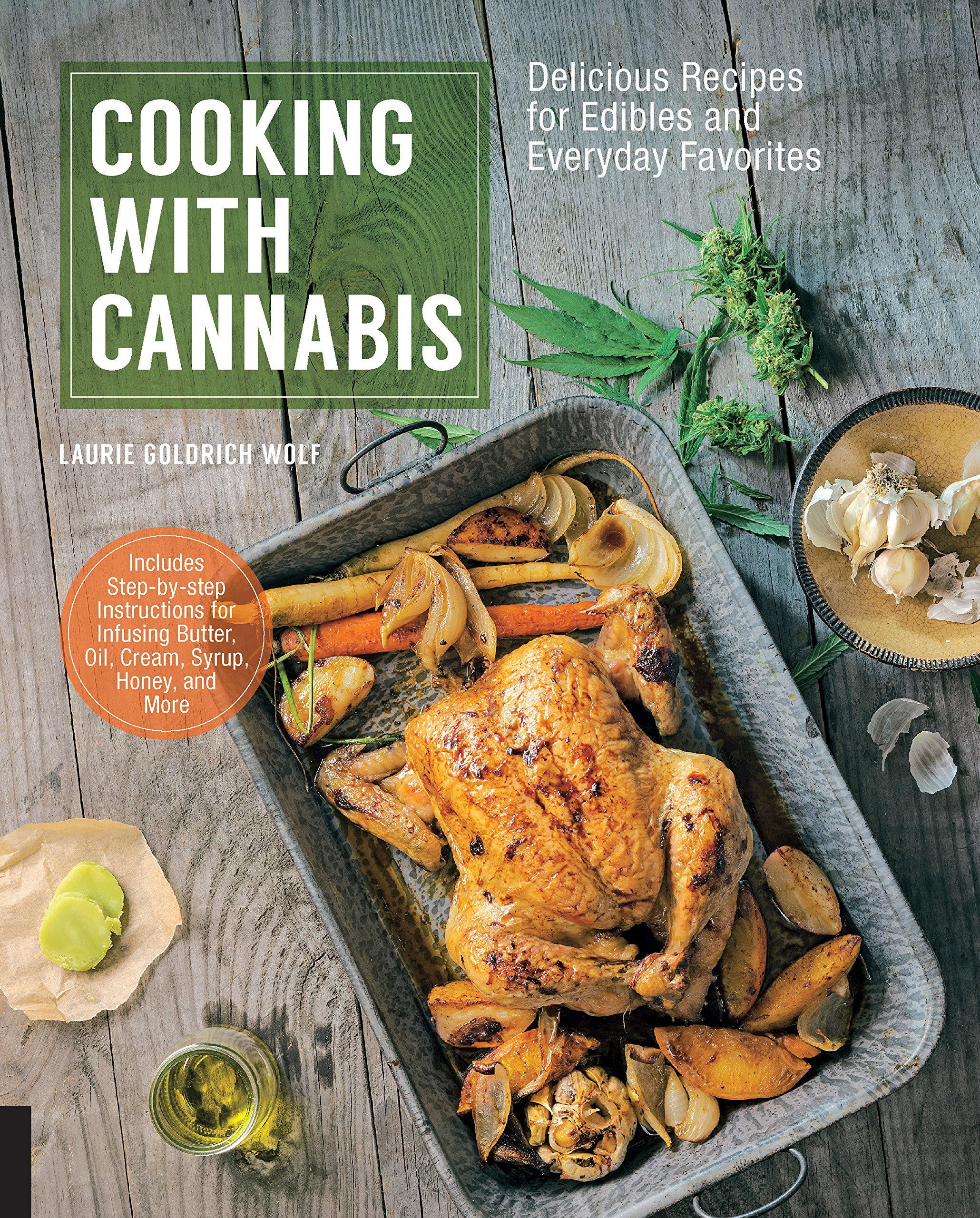 Image result for cooking with cannabis book