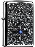 Zippo 2,005,035 Feuerzeug Star Blue Center Collection Spring 2016, cromo lucido