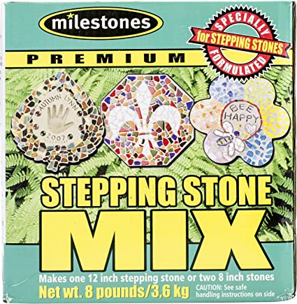 Amazon Midwest Products Premium Stepping Stone Cement Mix 8