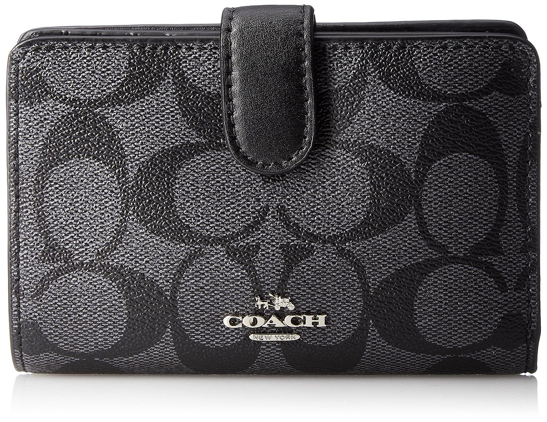 [コーチ] 二つ折り財布 COACH F23553 IMAA8 [並行輸入品] B078Y71R2J ブラック ブラック