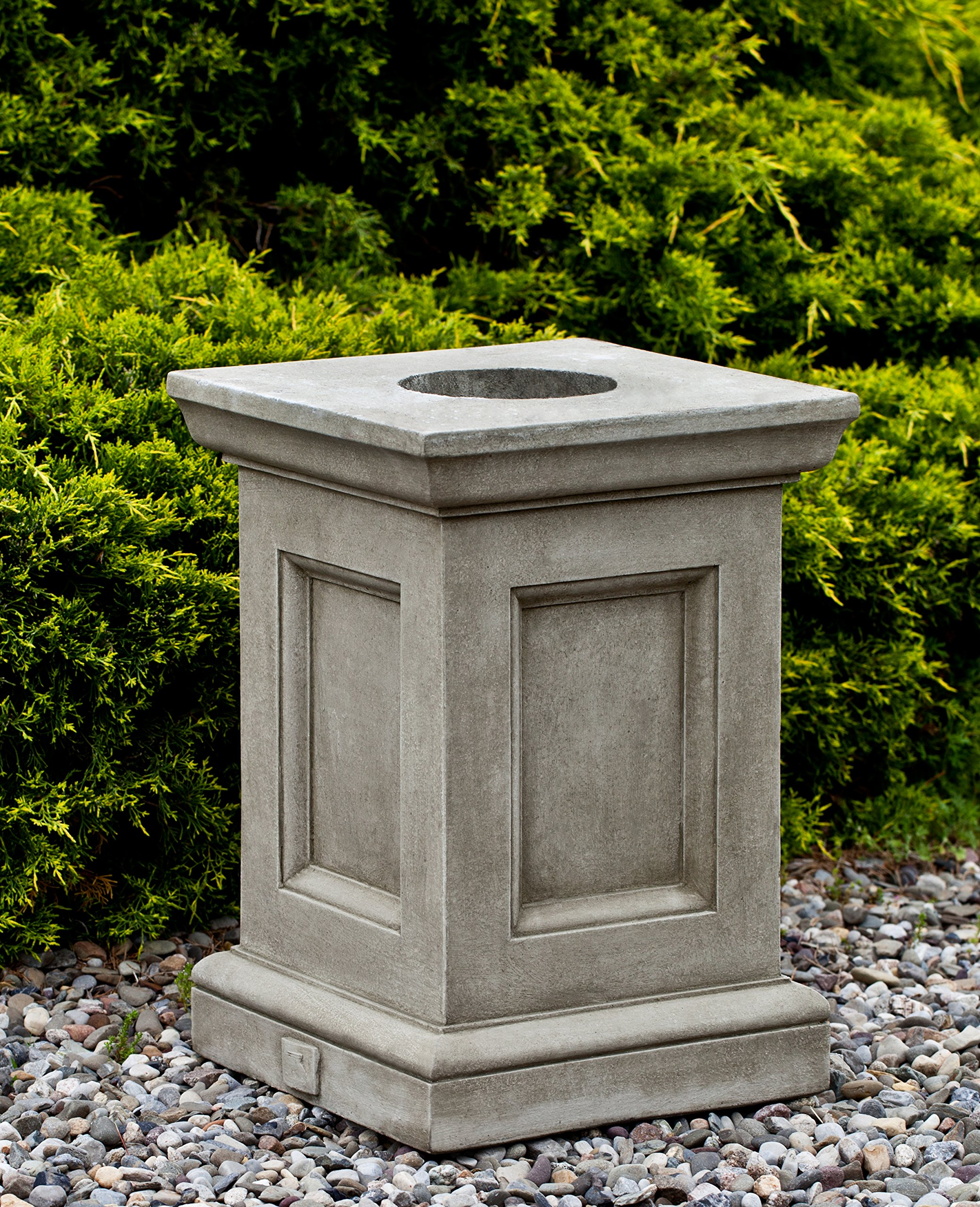 Campania International PD-198-EM Barnett Pedestal, English Moss Finish