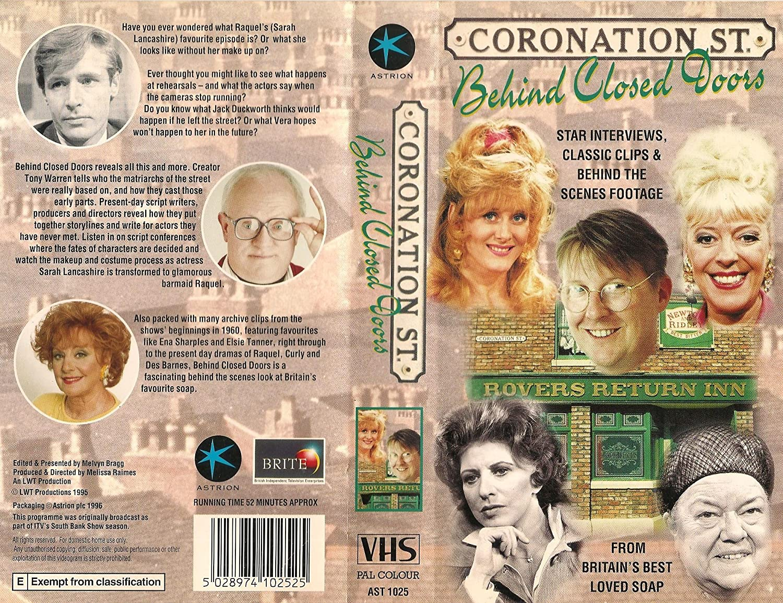 Coronation Street - Behind Closed Doors Reino Unido VHS ...