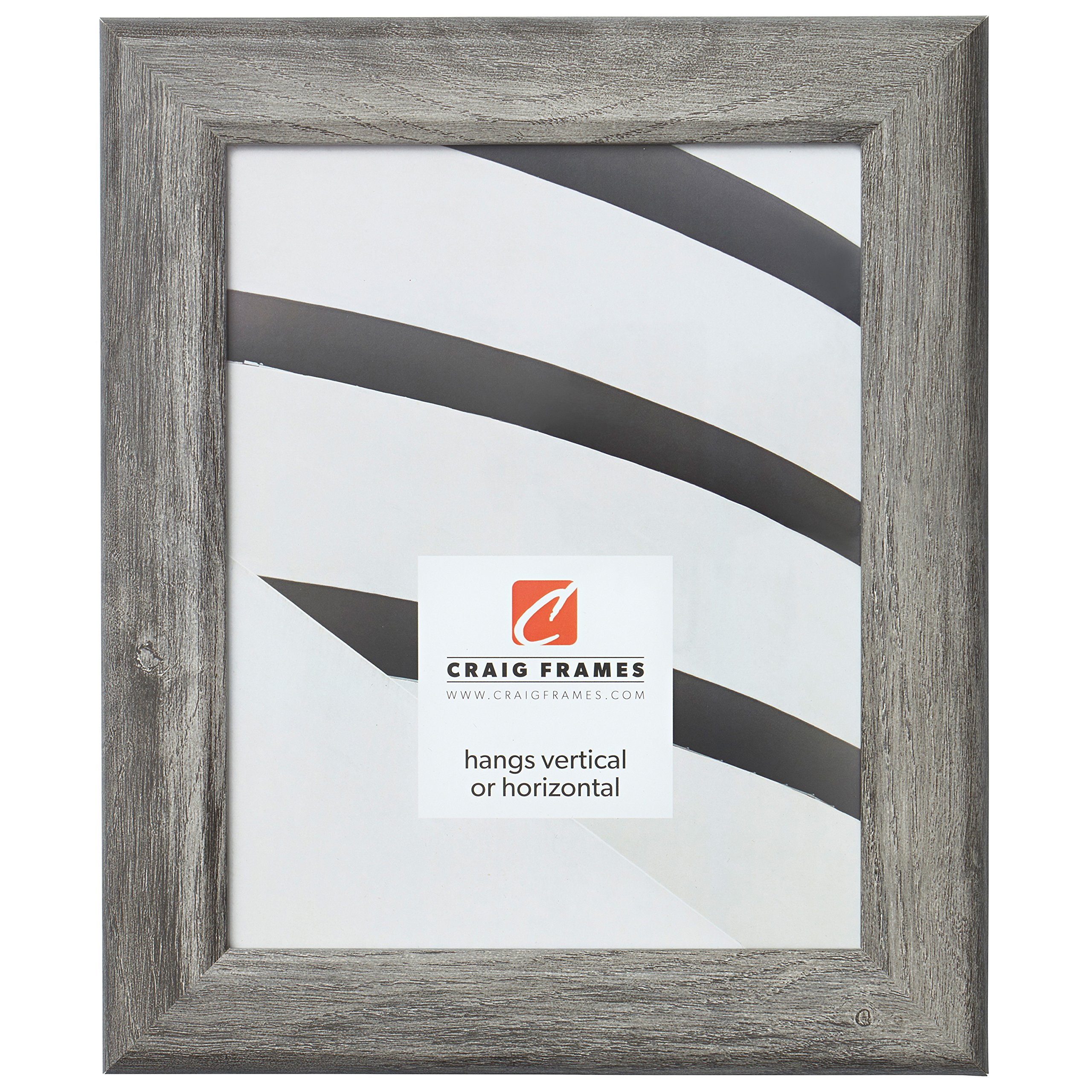 Craig Frames Arthur Picture Frame, 16 x 20 Inch, Gray Barnwood by Craig Frames