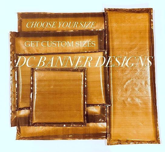 Teflon heat press pillow - choose your size or get the bundle