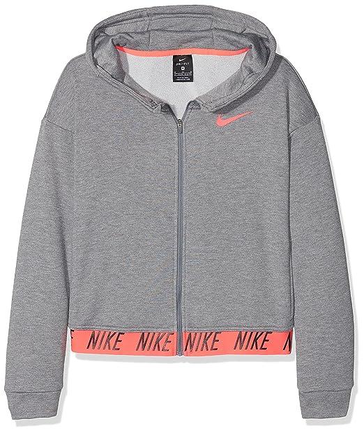 Los Angeles outlet neue bilder von Nike Mädchen G Nk Dry Hoodie Fz Core Studio Sweatshirt