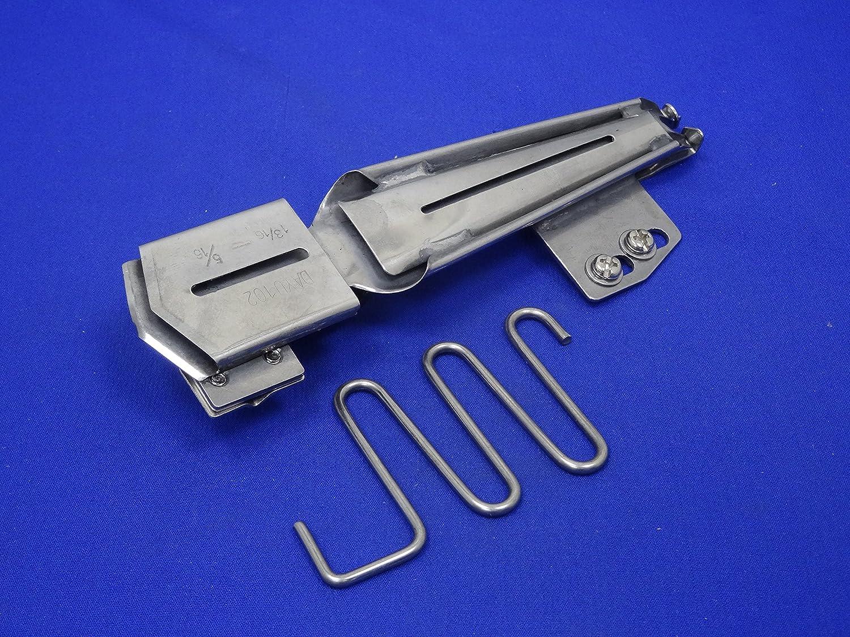 Industrial, máquinas de punto de cintas al bies carpeta de, pie, cinta tamaño 1 3/16