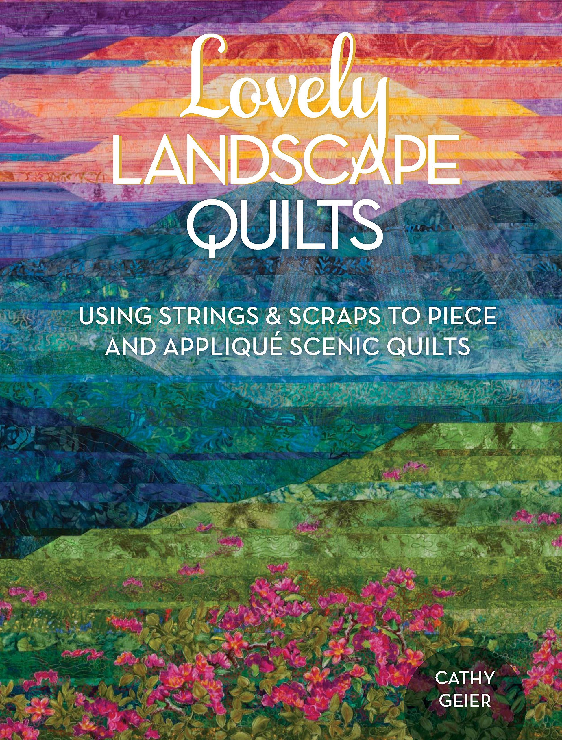 Image result for landscape quilt design using strips