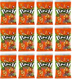 Sour Punch Bite Chewy Gummy Sour Candies - Tropical Blends - Bite Size - 4oz Per Bag (12 Pack)