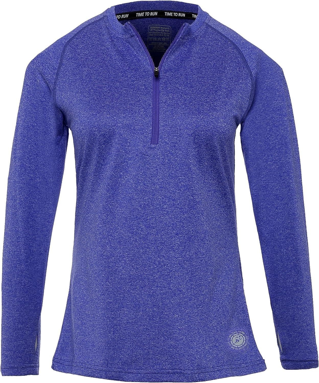 Time To Run Camiseta Deportiva para Mujer