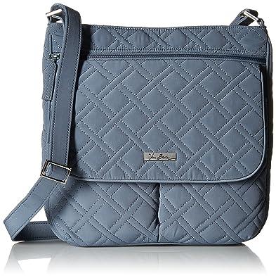 Amazon.com  Vera Bradley Women s Double Zip Mailbag mf, Charcoal  Shoes 006476cc9d