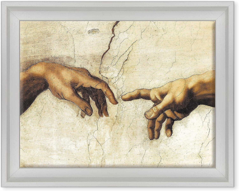 ConKrea Marco Sobre Lienzo Canvas Listo para Colgar – Michelangelo ...