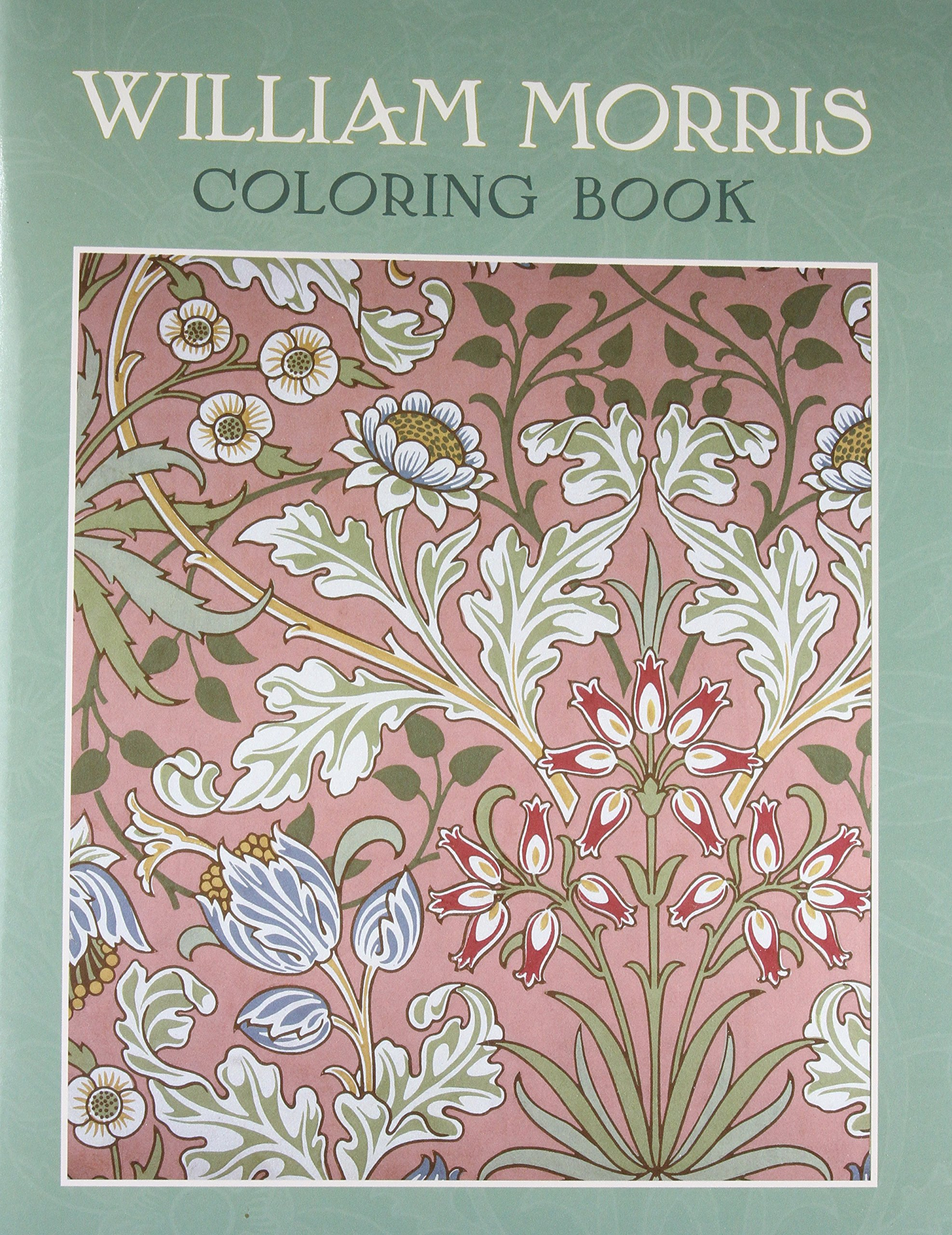 William Morris Coloring Book Brooklyn Museum Of Art 9780764950247 Amazon Com Books