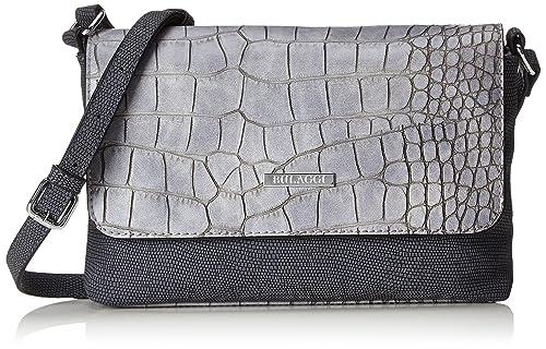 Bulaggi - Rocca Clutch, Carteras de mano Mujer, Grau, 04x16x24 cm (B x H T): Amazon.es: Zapatos y complementos