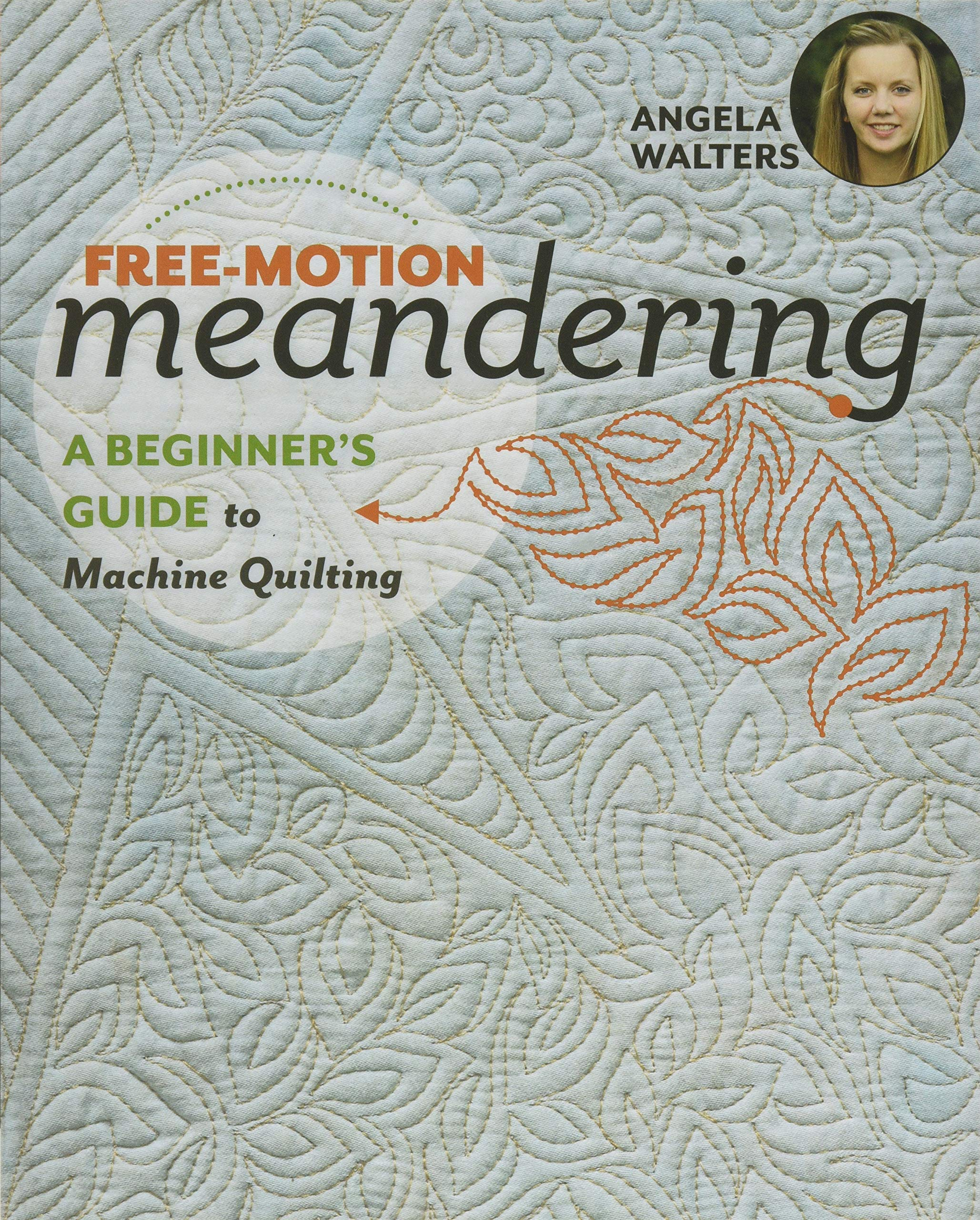 Free Motion Meandering Beginners Machine Quilting product image