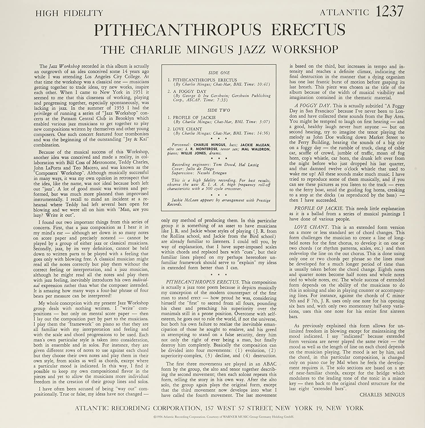 what does pithecanthropus mean