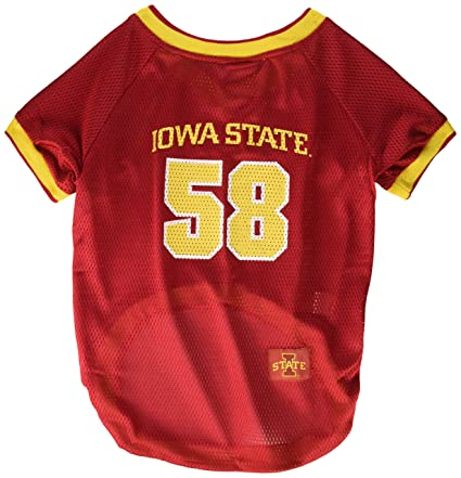 Image Unavailable. Image not available for. Color  NCAA Mirage Pet Products  Iowa State Cyclone Jersey ... 72e4df2aa