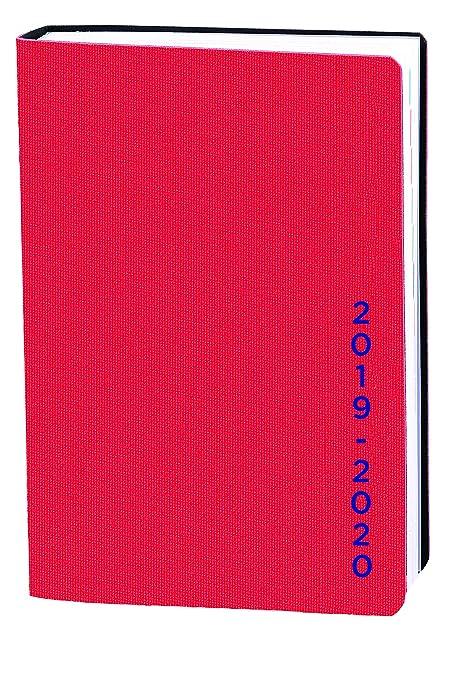 Agenda Escolar 1 Día/Página 2019-2020 Galaxy, A6/10x15cm, color Rojo