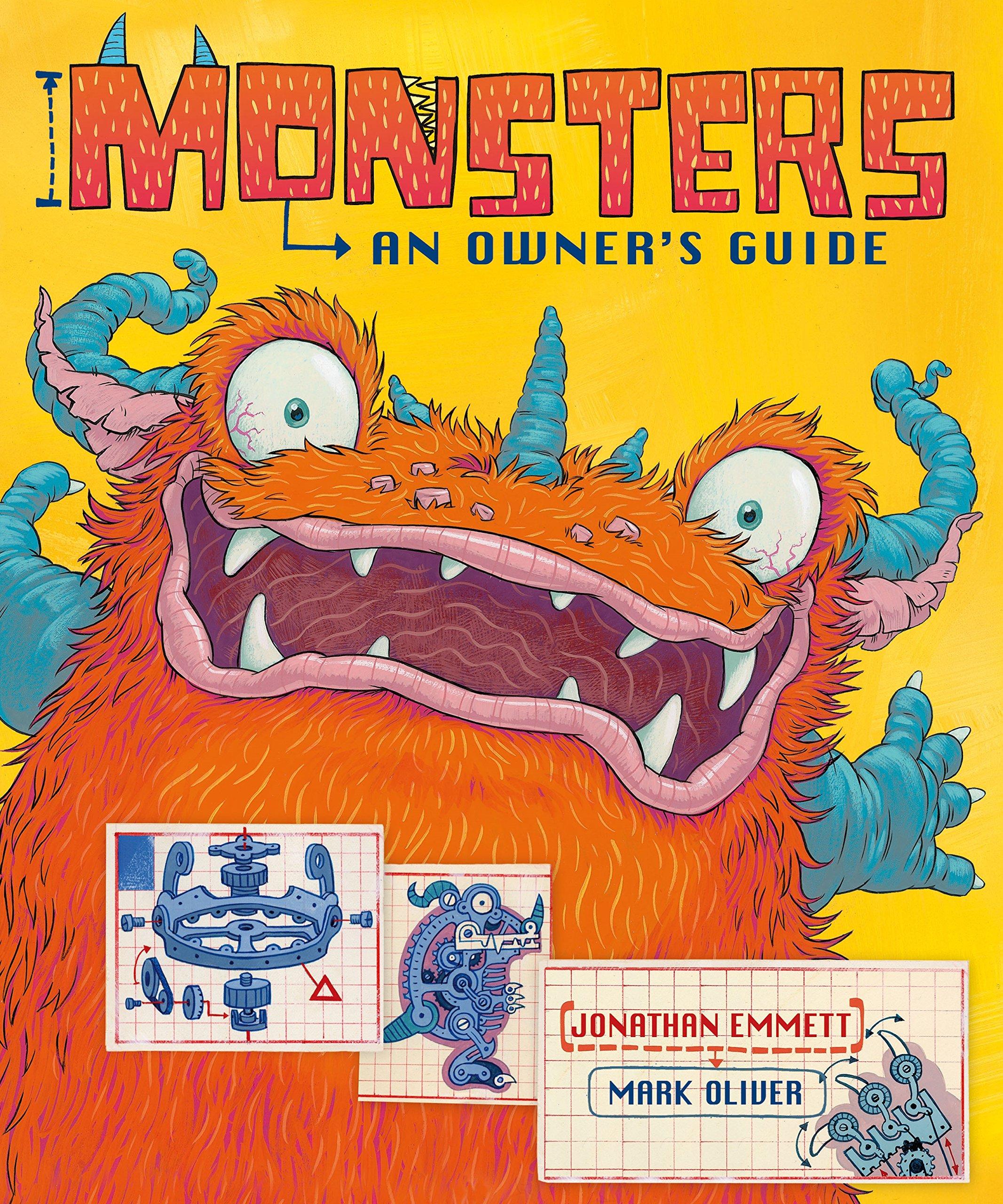 Monsters: An Owner's Guide: Amazon.co.uk: Emmett, Jonathan, Oliver, Mark: 9780330507585: Books