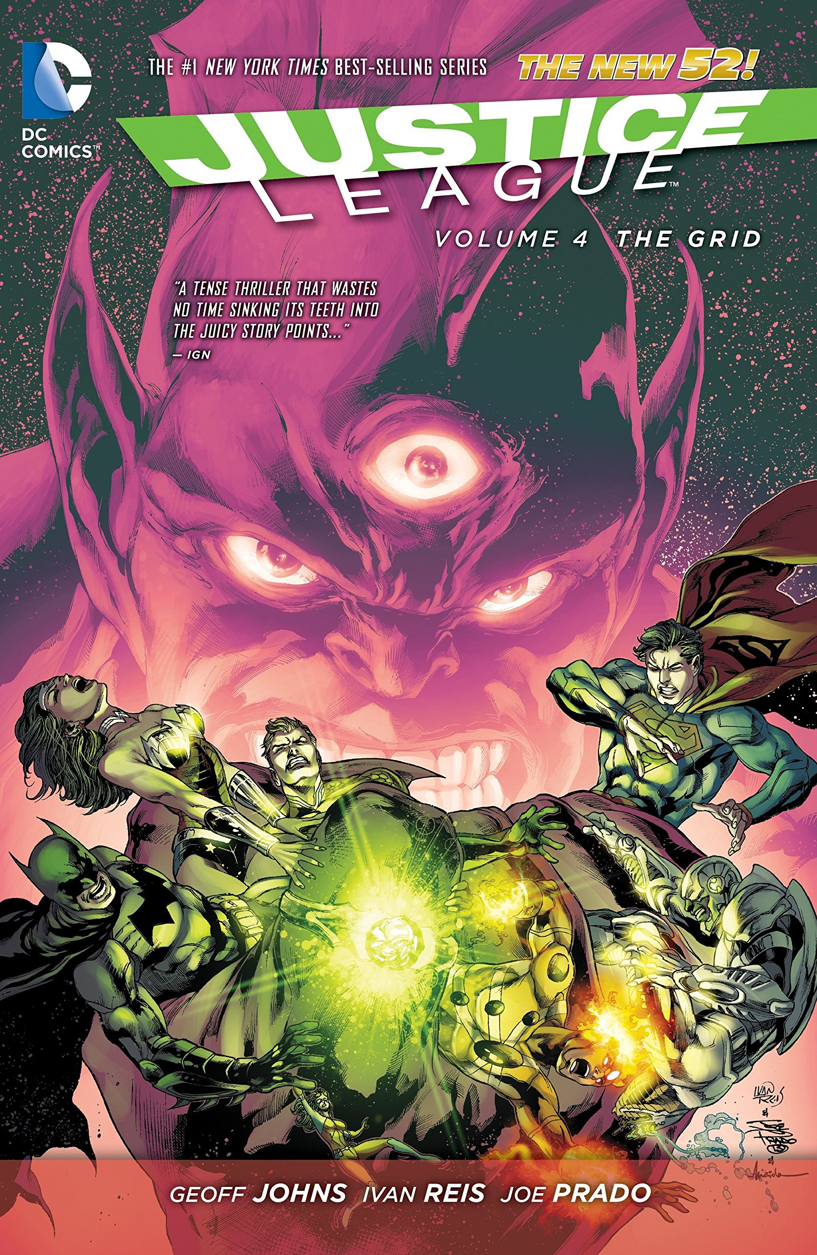 Justice League Vol. 4: The Grid (The New 52) pdf