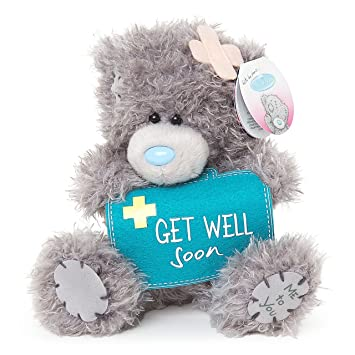 6e22ab4915c Image Unavailable. Image not available for. Colour  Me To You SG01W4076 M5 Get  Well Soon Soft Toy