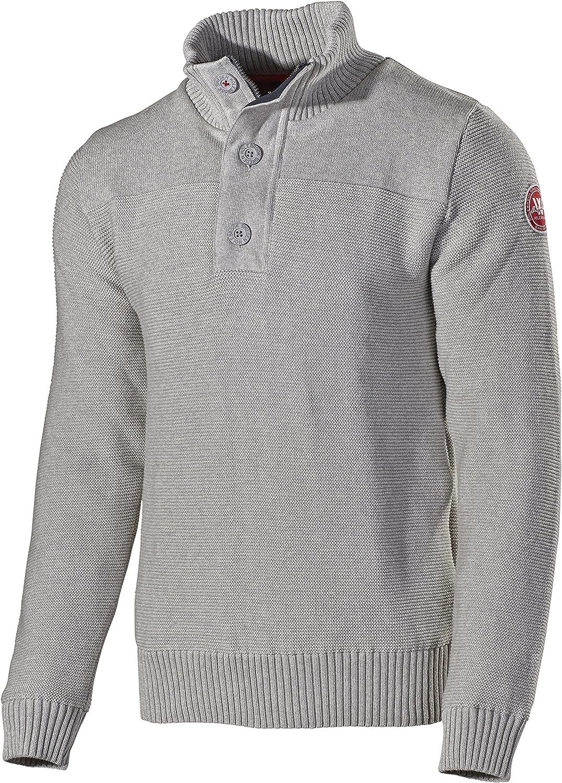 Holebrook Mens Jan Windproof Sweater Light Grey