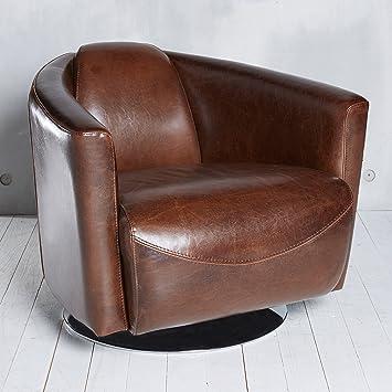 Relaxsessel braun leder elegant relaxsessel mit hocker for Braune ledersessel