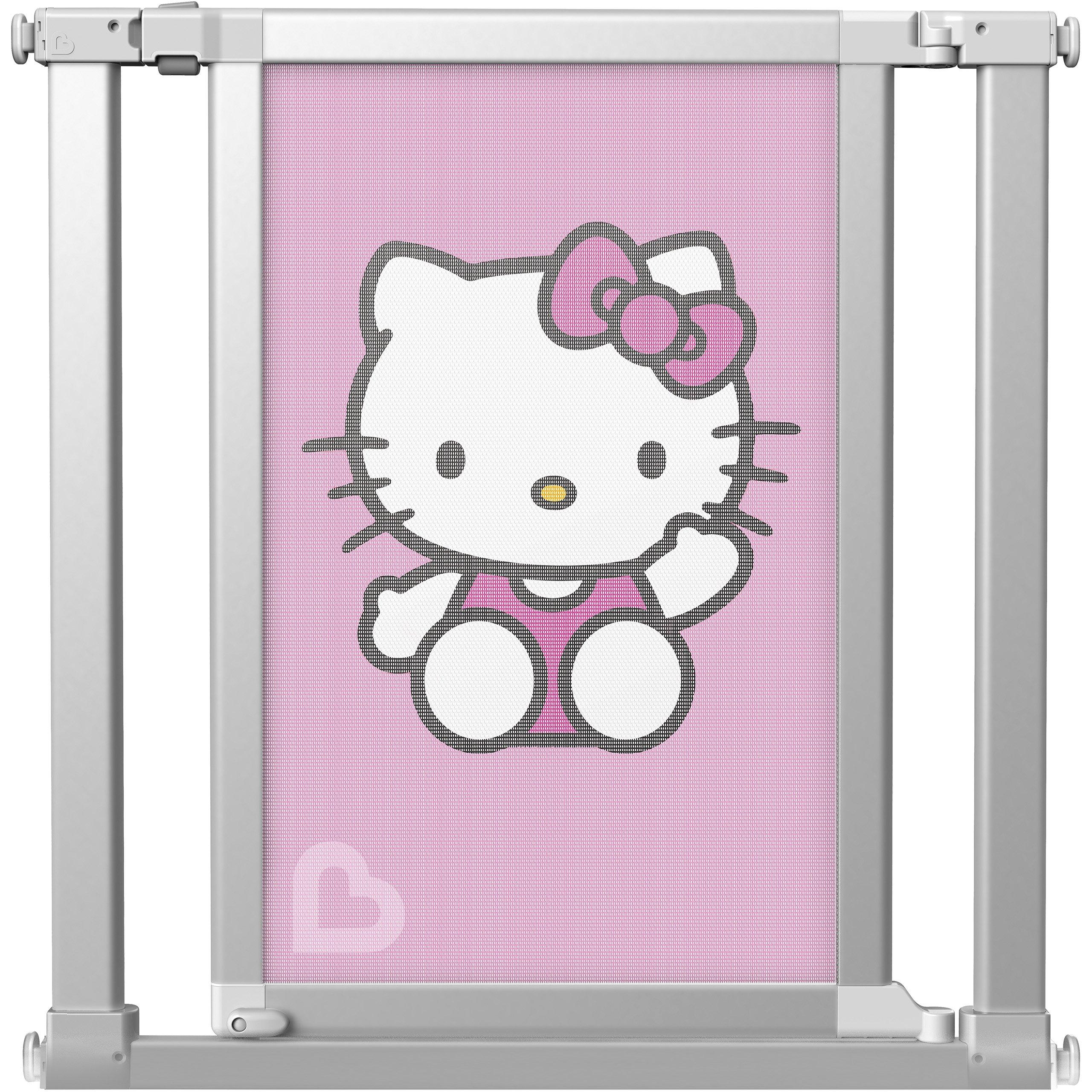 Munchkin Vibe Mesh and Steel Baby Gate, Hello Kitty, Model MKSA0511-011