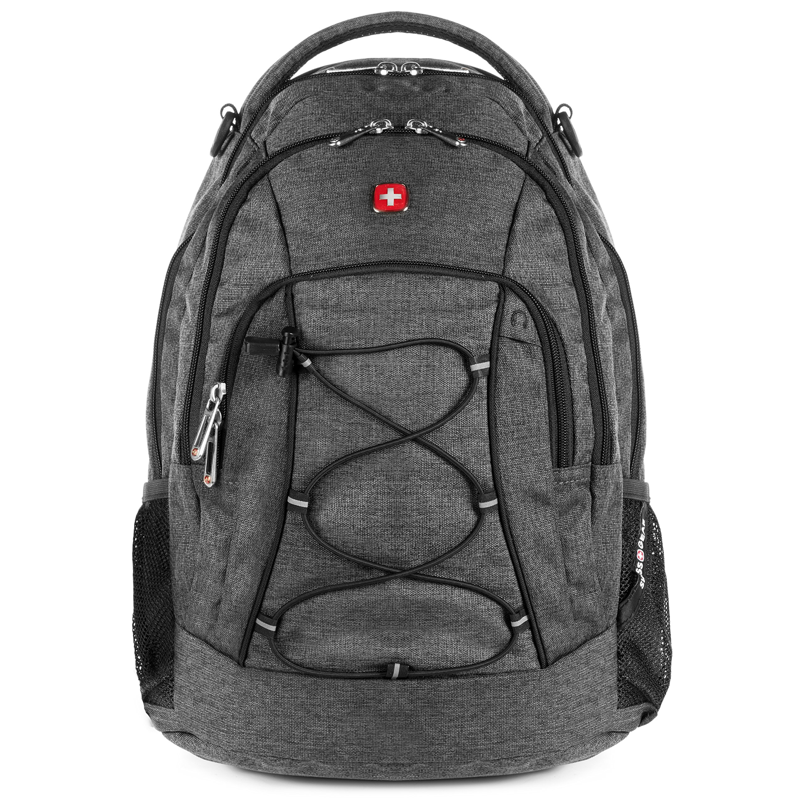 SWISSGEAR 1186 Laptop Backpack (Heather Gray) by Swiss Gear