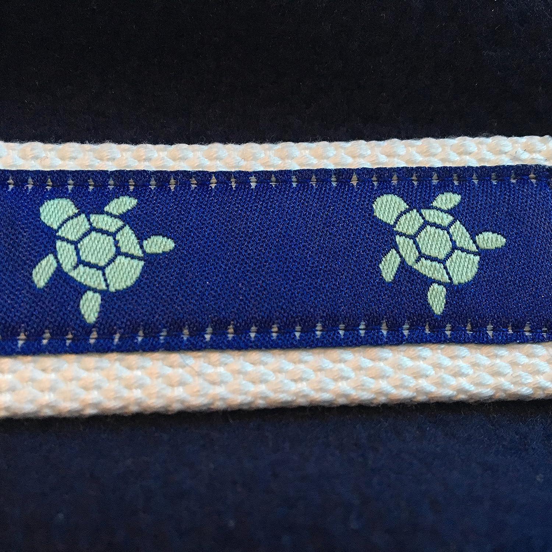Adjustable D Ring Belt, Turtle Belt, Ribbon Belt, Turtle Ribbon, Preppy Belt