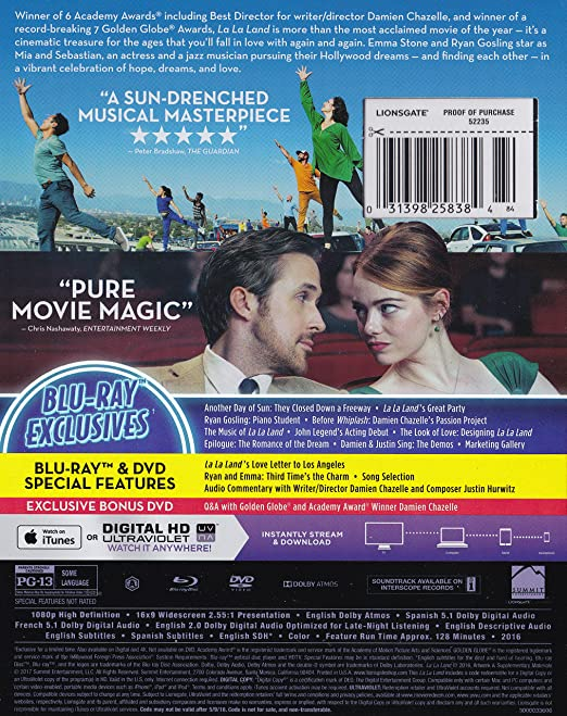 la la land full movie download bluray