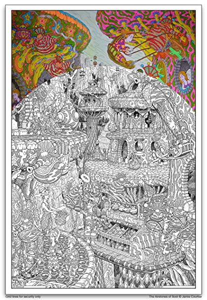 Amazon.com: Wildergorn Color In Posters by Jamie Courtier - The ...