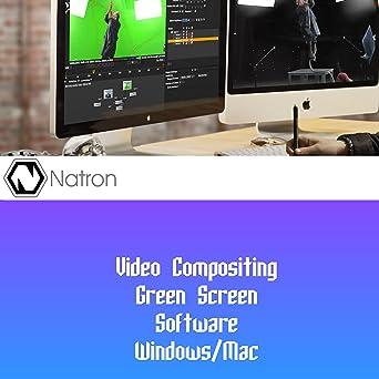 Amazon com: Video Compositing Green Screen Chromakey