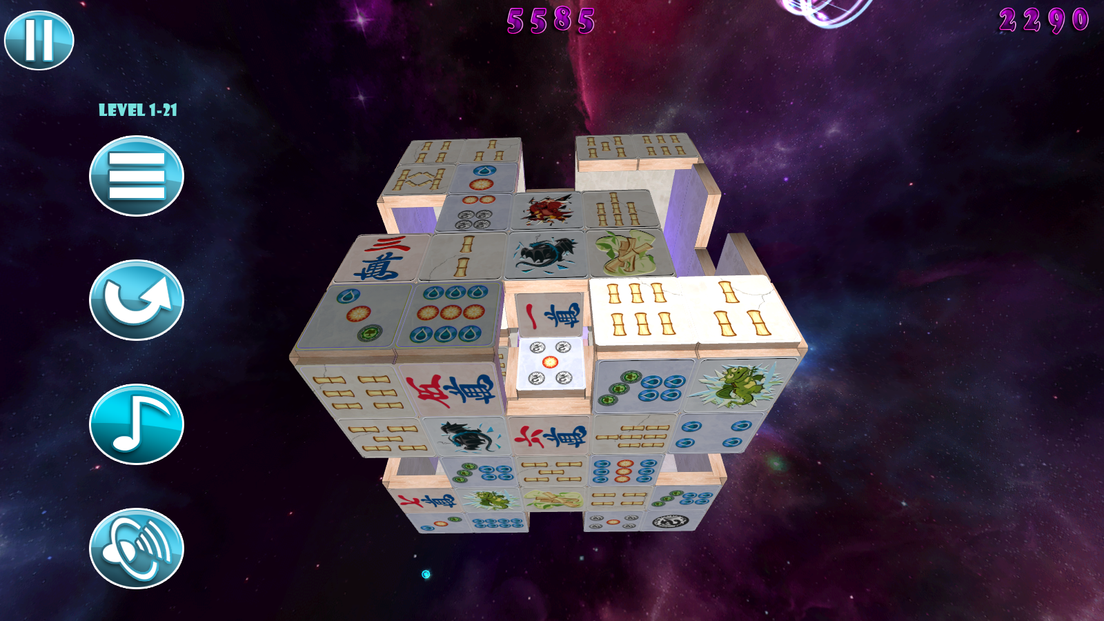 Mahjong Deluxe 2: Astral Planes [Online Game Code]